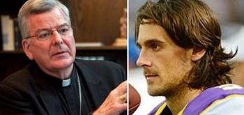 Kluwe destrots Arch Bishop