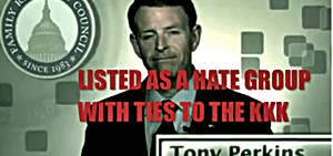 Tony Perkins racist
