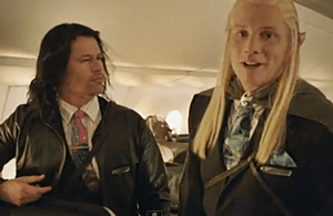 Air New Zealand Hobbit Treatment