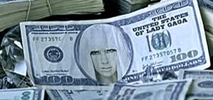 Lady gaga Donates Money