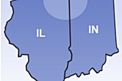 Illinois Indiana