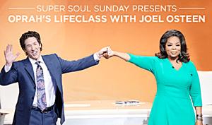 Joel Osteen and Oprah