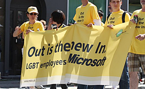 Microsoft gay employees