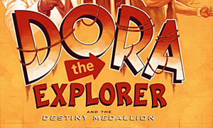 Dora The Explorer and Destiny Medallion