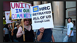 HRC 1995 Protest ENDA