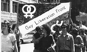 The Gay Liberation Front formed July 24