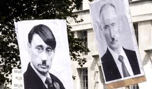 Lodon russia protest