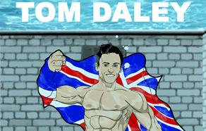 Tom Daley Comic Book