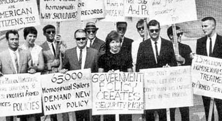 April 17th, 1965   Frank Kameny Leads First Homosexual Protest At The White House