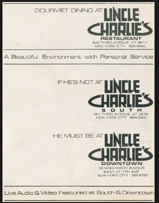 Uncle Charlies all