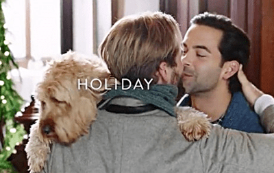 Nordstrom gay Christmas Commercial