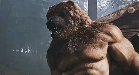"Russian Superhero Movie ""Guardians"" Brings New Meaning To Muscle Bear - VideoGuardians Bear Man"