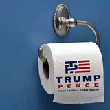 TTrump/Pence 2016 Trash Old Logo Introduce New One With Less Anal Penetration.