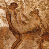 Today in Gay History: August 24, 79 AD - Mt. Vesuvius Erupts Burying Tons Of Ancient Gay Porn Under Ash