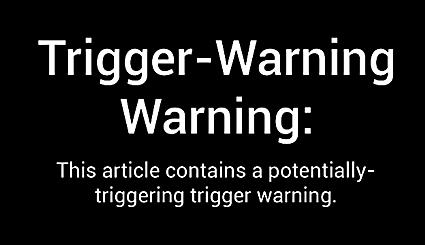 Trigger Warning University of Chicago