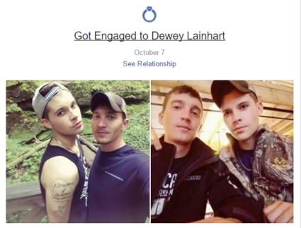 Dewey Lainhart and Cody Moore