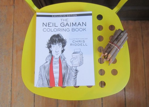 Neil Gaiman Colouring Book