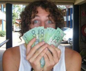 backpacker budget cash australia