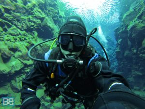 scuba dive silfra iceland travel backpacker (4 of 11)