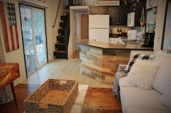Enamour Stick Wood Updating Tiny House Kitchen Reclaimed Peel Back To Blueberry Tiny House Kitchen Units Tiny House Kitchen List