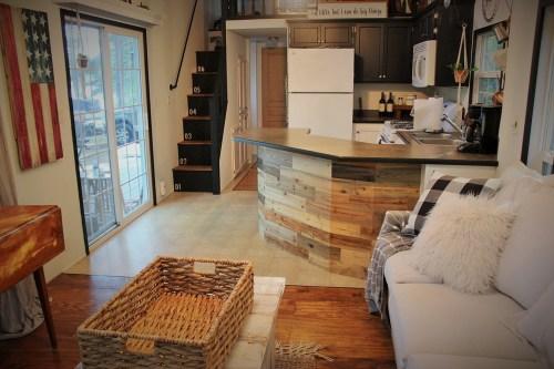 Medium Of Tiny House Kitchen