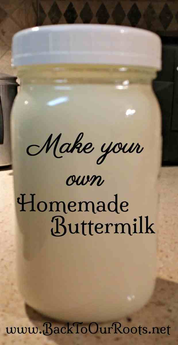 Homemade Cultured Buttermilk