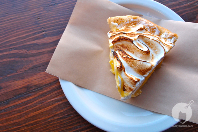 Lemon Meringue Pie @ The Pie Hole Los Angeles