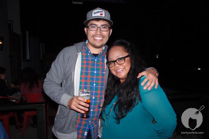 Jorge Oswaldo with Abby Bantog