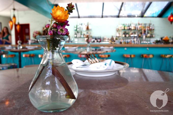A vibrant and floral Caribbean theme @ Sunny Spot