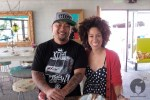 Chef and Owner Roy Choi graciously poses with The Backyard Bite!