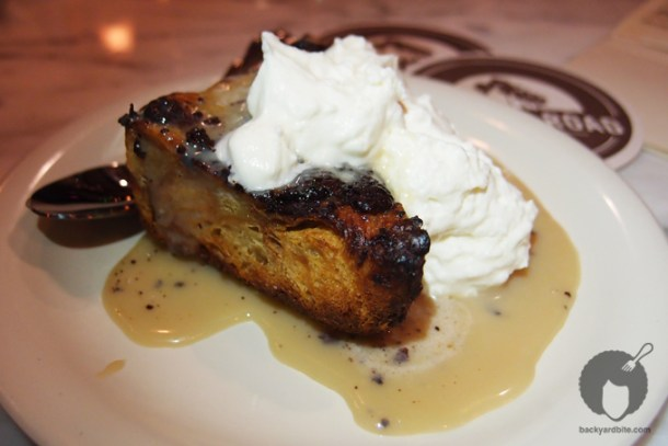 Bread Pudding Croissant at Golden Road Brewery