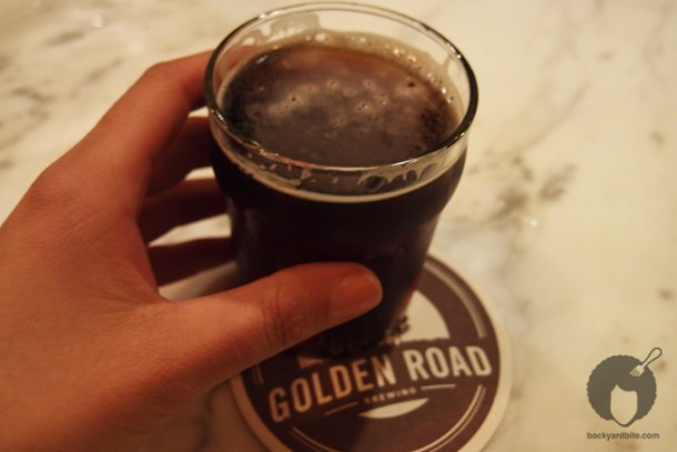 Get up Offa that Brown at Golden Road Brewery