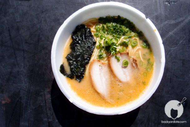 Tatsunoya from Japan: My Favorite bowl! Creamy broth, rich and savory flavor.