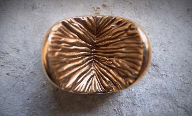 Anus chocolate truffle