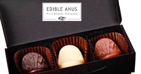 Anus chocolates