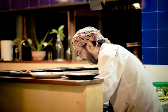 Chef Joseph at La Serrana hostel