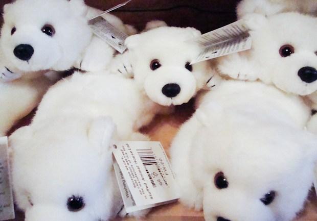 polar bear stuffed animals