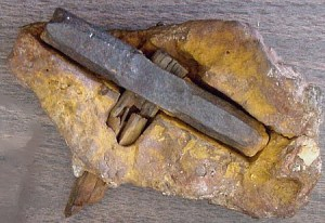 A hammer from London (Texas, USA)