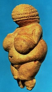 The so-called Venus of Willendorf