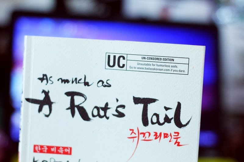 As much as a Rat's Tail (the book that started it all)