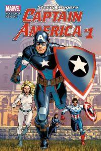 Captain America: Steve Rogers #1, copertina di Jesus Saiz