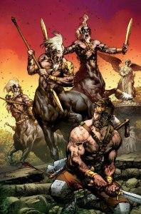 Hercules #3, copetina di Jay Anacleto
