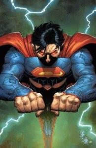 Superman #51, copertina di John Romita Jr.