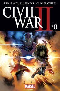 Civil War #0, copertina di Olivier Coipel