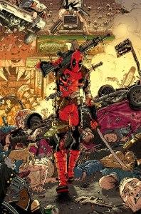 Deadpool #7, variant cover di Scott Koblish
