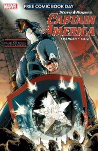 FCBD Captain America #1, copertina di Jesus Saiz