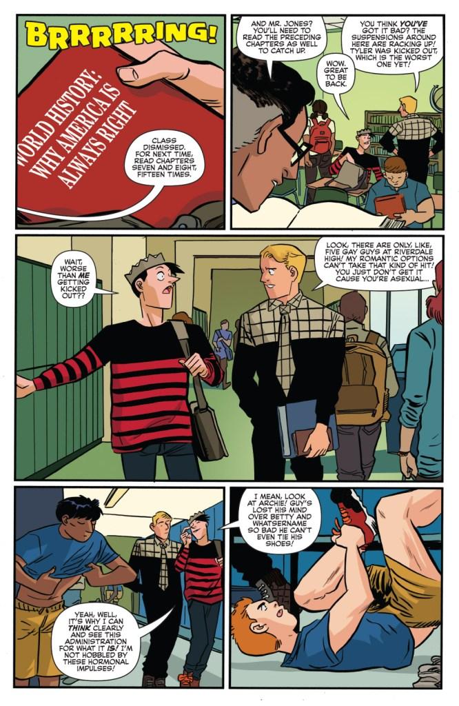 Jughead #4, anteprima