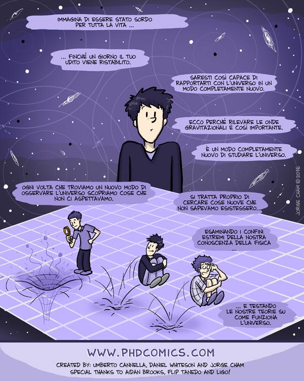 Phd Comics, onde gravitazionali 03
