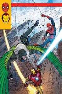Spidey #5, copertina di Nick Bradshaw