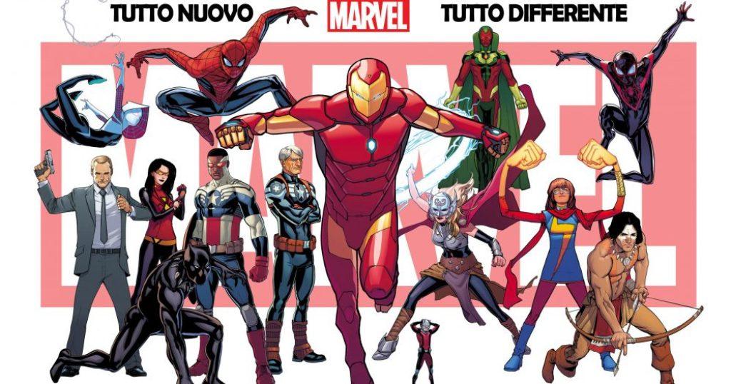 Universo Marvel tutto nuovo tutto differente